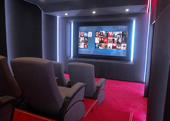Home Cinema realizzato a Baku, Azerbaigian