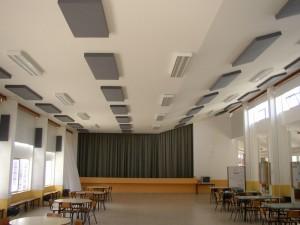 Una scuola trattata acusticamente