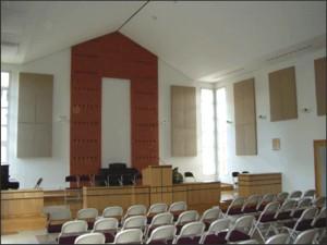 Una chiesa trattata custicamente